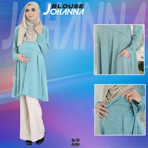 Blouse Naura Tunic blouse johanna bj002 saeeda collections