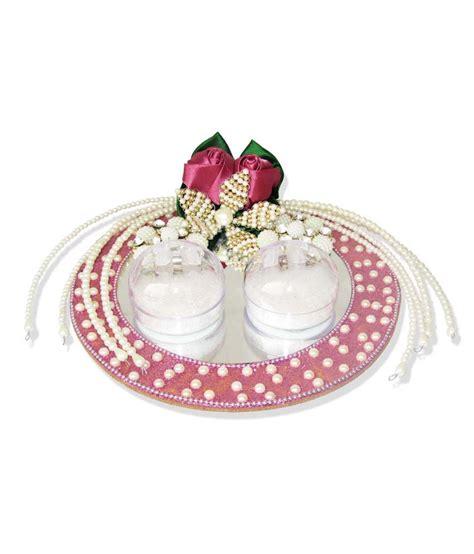 weddingpitara multicolor ring platter buy weddingpitara