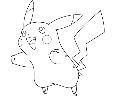 Coloring Pages Of Mega Pikachu | mega pikachu coloring pages coloring pages