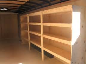 enclosed trailer shelving ideas http industriouswolf images trailers aho05 jpg