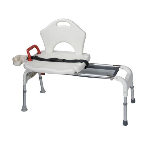 medical transfer bench folding universal sliding transfer bench white drive