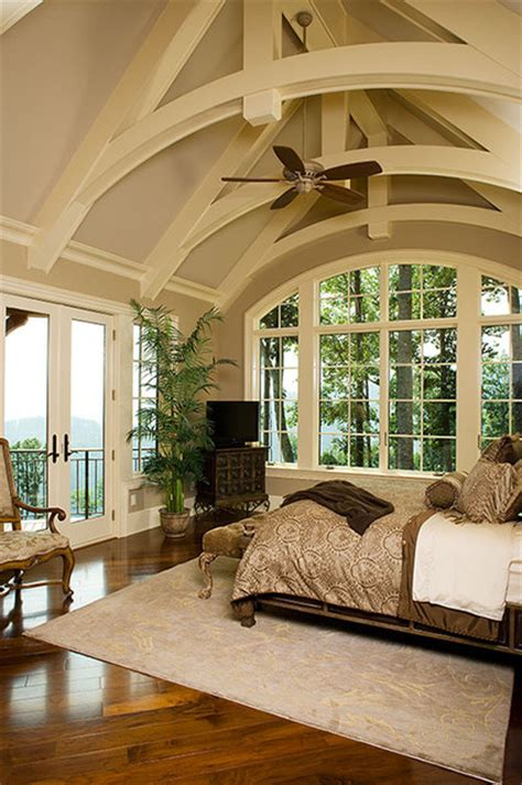 donald gardner architects the oak abbey plan 5003 traditional bedroom