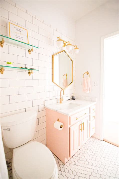 girl bathroom videos modern glam blush girls bathroom design cc and mike