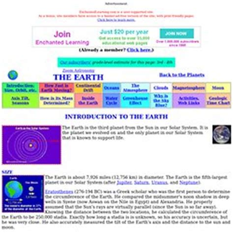Earthworm Enchanted Learning Software Science About The Earth Pearltrees