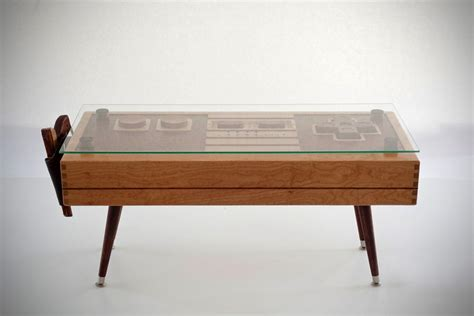 Controller Coffee Table Wooden Nintendo Nes Controller Coffee Table Mikeshouts