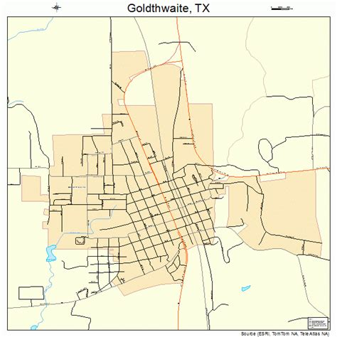 mills county texas map goldthwaite texas map 4830056