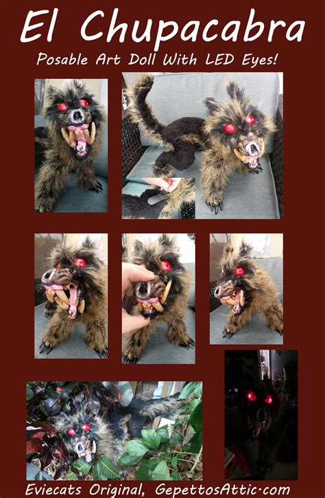 posable doll tutorial chupacabra ooak posable doll by eviecats on deviantart