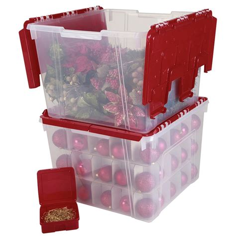 ornament storage bins ornaments storage container diy backyard greenhouse