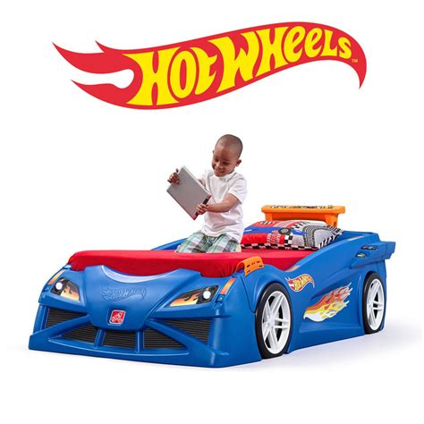 Step 2 Race Car Bed by Wheels Toddler To Race Car Bed Step2