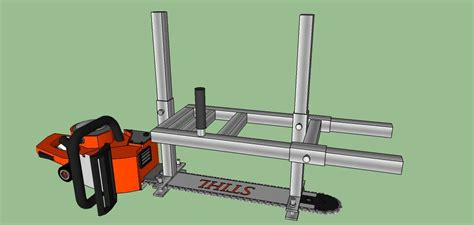 posted image   chainsaw mill chainsaw mill plans