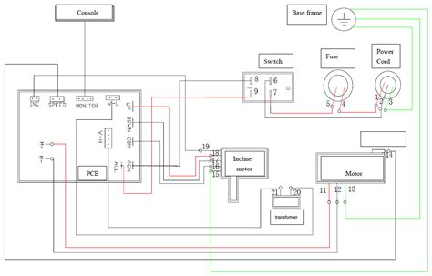 treadmill wiring diagram 24 wiring diagram images