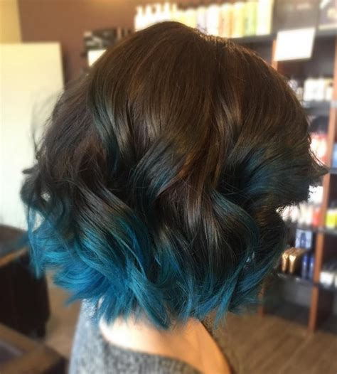is ombre blue hair ok for older women 18 beautiful blue ombre colors and styles popular haircuts
