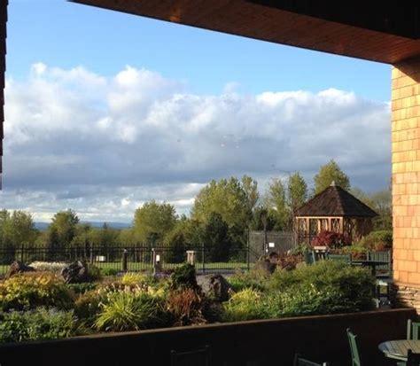 Oregon Gardens Resort by View From Garden Restaurant Picture Of Oregon Garden