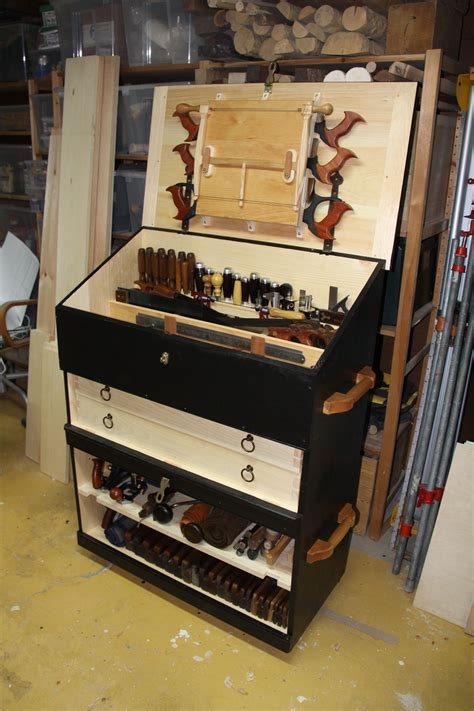 large dutch style tool chest   sections full