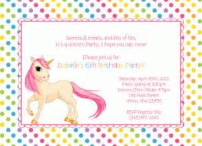 unicorn iie birthday invitation birthday invitations