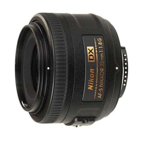 Lensa Nikon 35mm F 1 8g jual nikon af s 35mm f1 8g dx lensa kamera harga