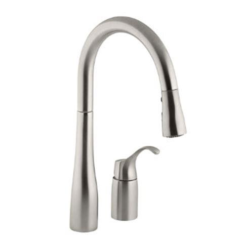 kohler simplice kitchen faucet kohler k 647 vs simplice single handle pulldown kitchen
