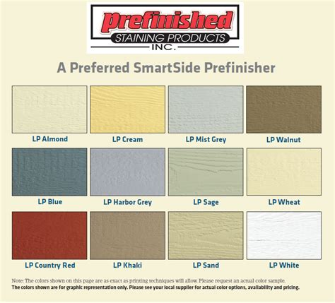 lp siding colors lp smartside prefinished colors related keywords lp