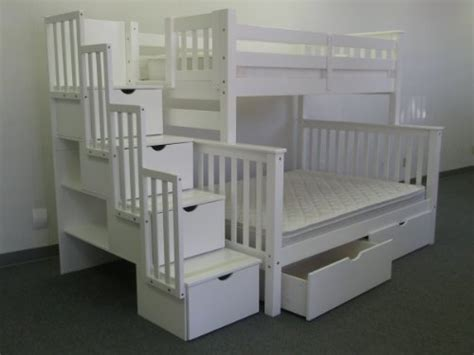 King Bunk Beds With Stairs Bedz King Bed Review Bunk Beds With Stairs Review Hub