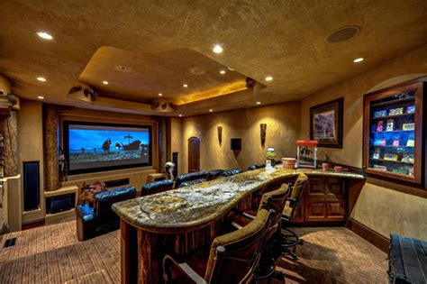 home theater  snack bar recreation room pinterest