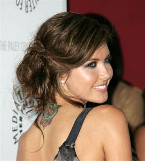 side swipe updo hairstyles some great side swept curly updos you may love