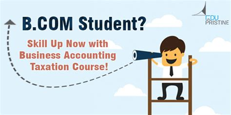 Mba In Accounting And Taxation In India by B Student Skill Up With Business Accounting Course