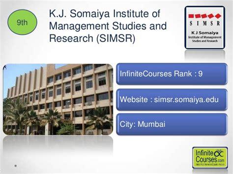 Kj Somaiya Mba College Mumbai Ranking by Top 20 Mba Colleges In India