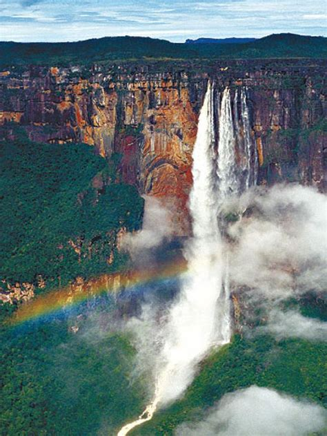 imagenes paisajes naturales de venezuela tallest waterfall in the world salto angel venezuela