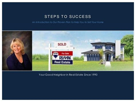 Terry Naber Re Max Properties Inc Seller Pre Listing Real Estate Listing Presentations Powerpoint