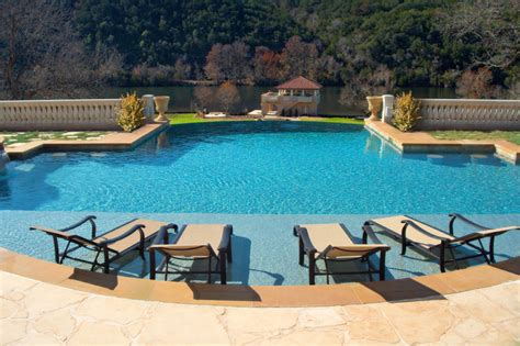 Pool Tanning Chairs Design Ideas Luxury Backyards Traditional Pool By Pools Inc