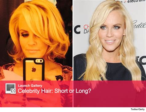 does jenny mccarthy have hair extensions with her bob jenny mccarthy chops off her hair see short new do