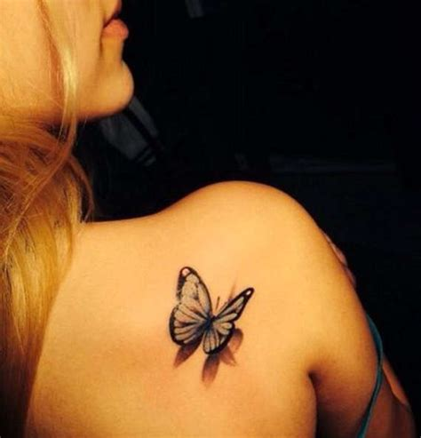 butterfly tattoo on girl s shoulder 86 stunning and lovely butterfly tattoos and designs
