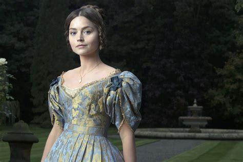 itv drama queen victoria first look at jenna coleman as queen victoria in new itv