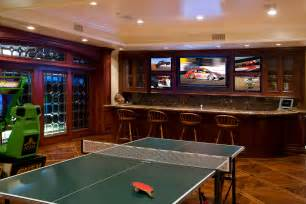 Game Room Pictures - sports amp game rooms gallery