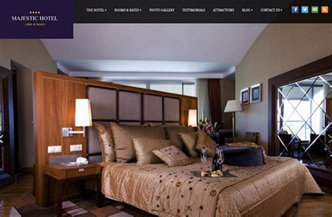 theme hotel full screen majestic wordpress theme for hotels hermesthemes