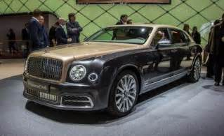 Bentley Molsan 2017 Bentley Mulsanne Photos And Info News Car And Driver