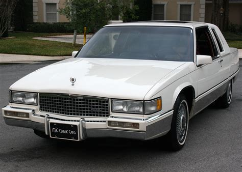 cadillac coupe for sale 1990 cadillac fleetwood coupe moonroof for sale