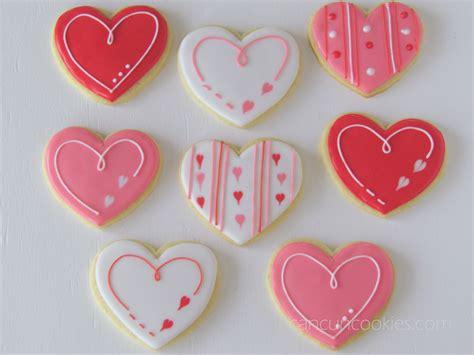 valentines decorated cookies cancuncookies s cookies baking biscuits