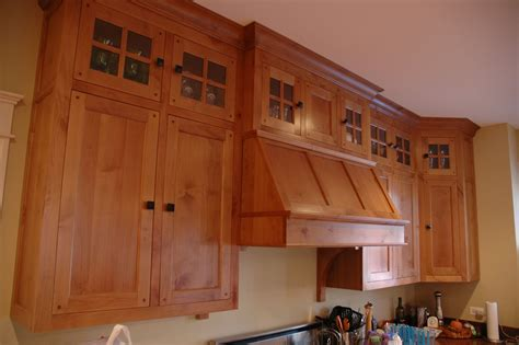 arts and crafts cabinet hand crafted arts crafts kitchen by custom corners llc