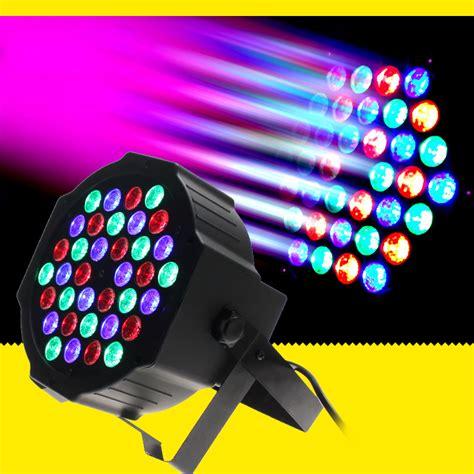 Led Stage Lighting Fixtures Dmx Led Par 36w Rgb Led Stage Par Light Wash Dimming Strobe Lighting Effect Lights For Disco Dj