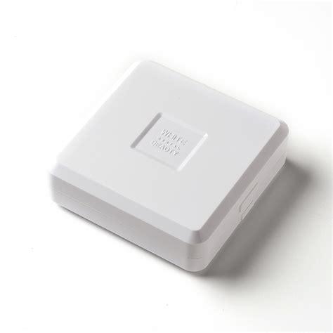 white dental beauty tray case black pk optident