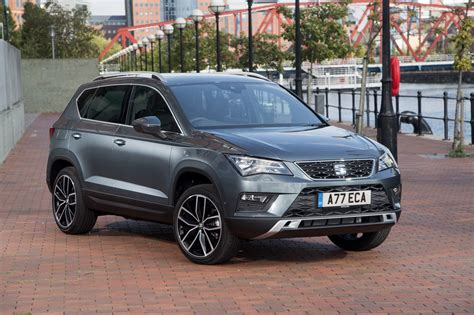seat ateca blue seat ateca suv 2016 buying and selling parkers