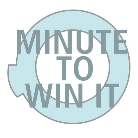 minute to win it template minute to win it the crafting