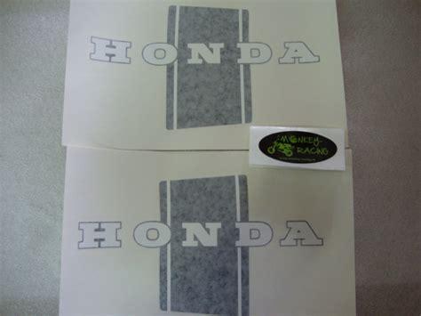 Aufkleber Honda Monkey by Monkey Racing Aufkleber