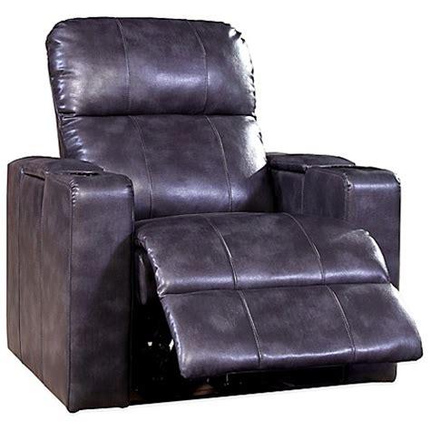 power recliner chair bed buy pulaski larson leather power recliner in magnetite