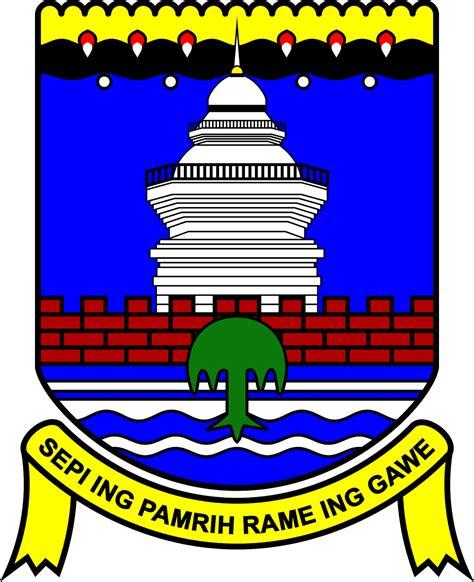 Menara Kotak Hitam barli berbagi logo kabupaten serang png