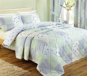 blue patchwork bedding range duvet quilt cover