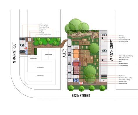 food truck park design 97w planning architecture interiors design lab