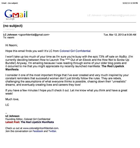 sle email email format professional business email format