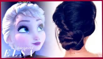 frozen elsa s coronation hair tutorial disney